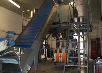 Linea automatizzata per pesatura e insaccamento ortaggi – Azienda Agricola Srl (LT)