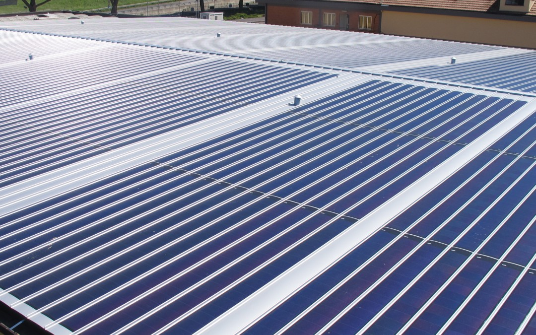 Asbestos rehabilitation and photovoltaic implant – Gotto D'oro Sooc.Coop. (RM)