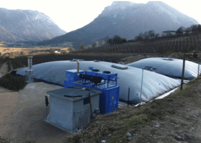 Biogas plants realised