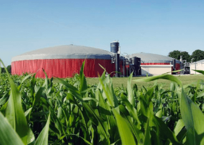 Реализованные биогазовые установки