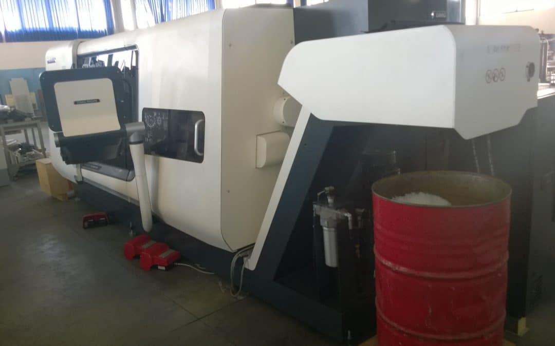 Centro di tornitura e fresatura robotizzato – O.R.M.A.D. COM SRL (BA)
