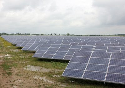 8. Operating PV power station  – 4 MW  – Odessa region